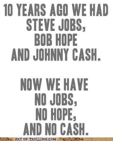 best of week,bob hope,johnny cash,Sad,steve jobs