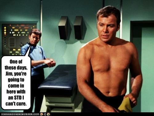 Captain Kirk DeForest Kelley McCoy Shatnerday William Shatner - 5285616896