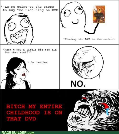 childhood,movies,no,Rage Comics,the lion king
