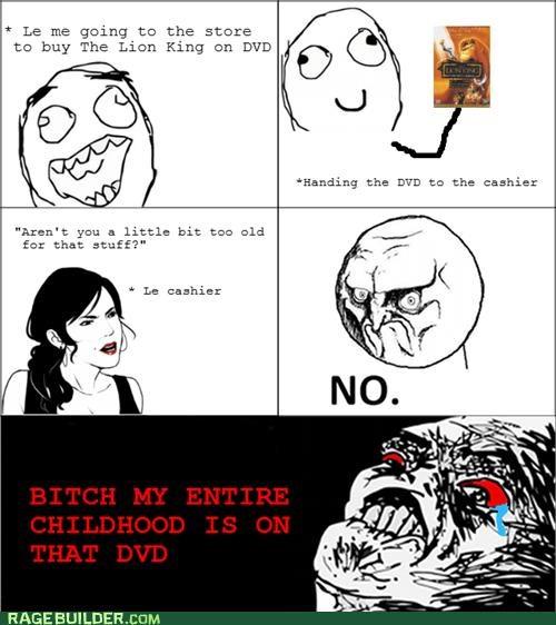 childhood movies no Rage Comics the lion king - 5285808896