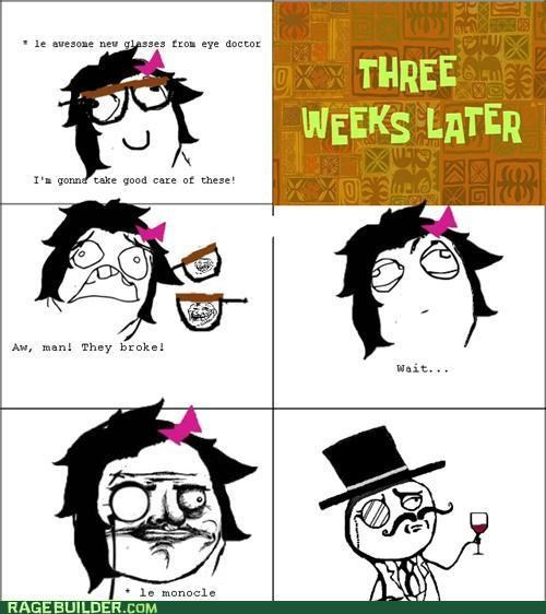 glasses sir monocle Rage Comics - 5285894144