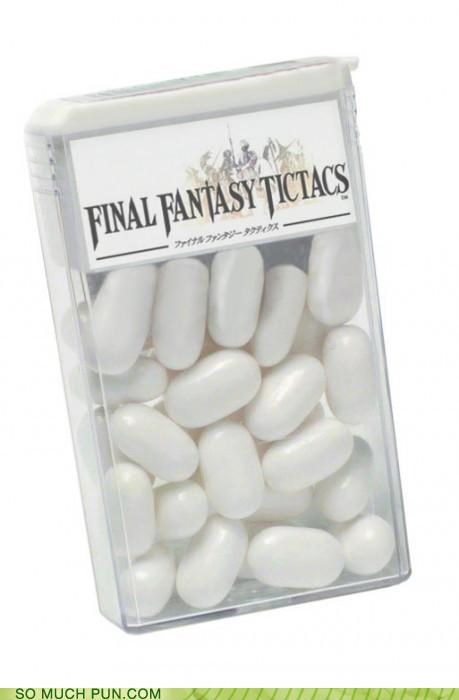 final fantasy,final fantasy tactics,Hall of Fame,letters,literalism,swap,tactics,tictacs,video game