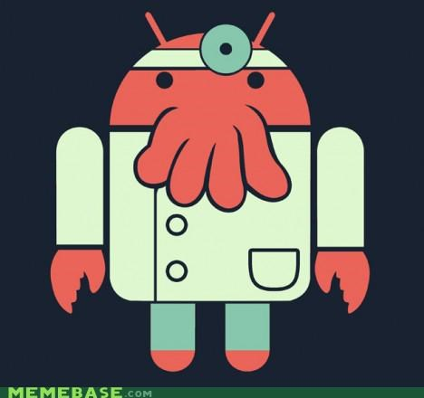 android logo mascot phones Why Not Zoidberg - 5285943040