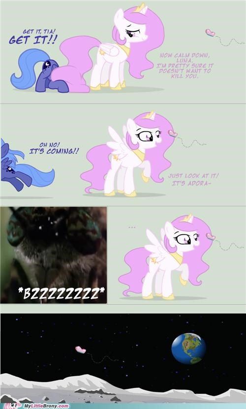 adorable bzzzzz comics cute fillies nightmare moon scum - 5285947648