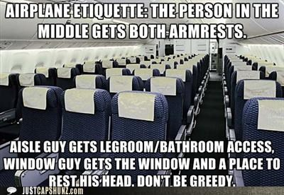 airplanes,aisles,courtesy,etiquette,flying,planes,rules,windows