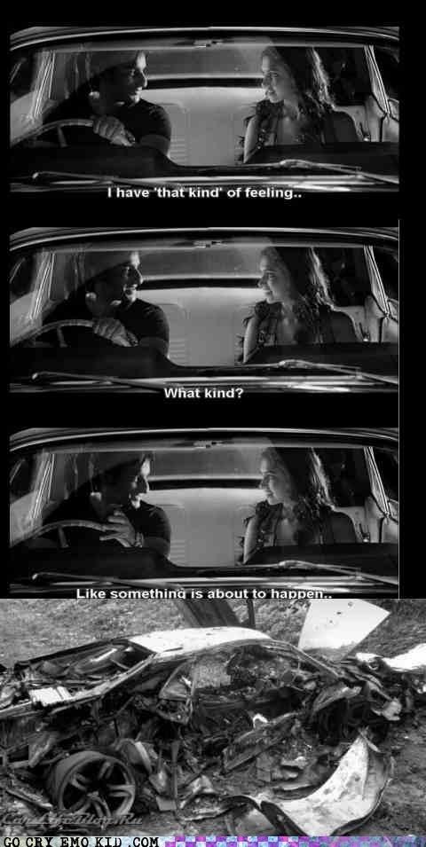 bad feeling,car accident,emolulz,Movie,wtf