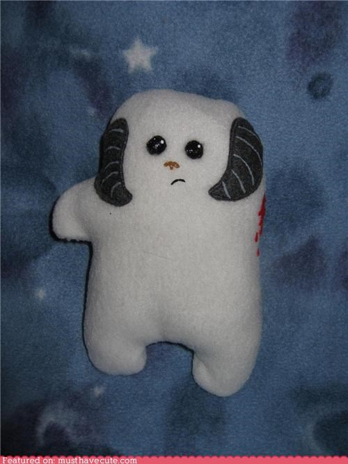 cute luke skywalker pal Plush star wars wampa - 5286709248