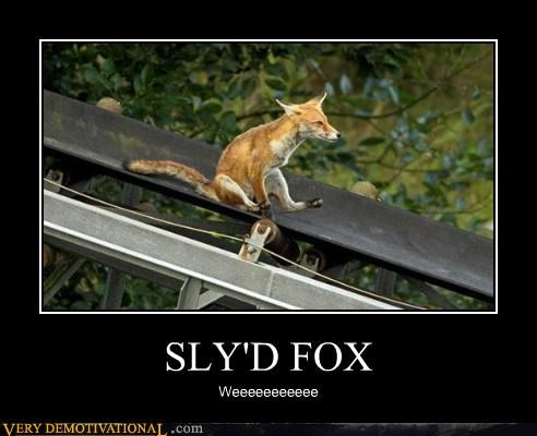 Pure Awesome slide sly fox video games - 5286744320