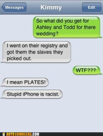 autocorrect flatware gifts Hall of Fame presents racism wedding - 5286885888