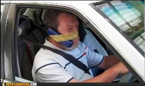 bad idea DIY hands free tape
