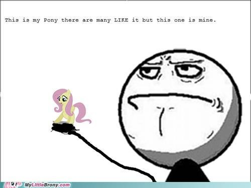 mine fluttershy brony the creed - 5287116544