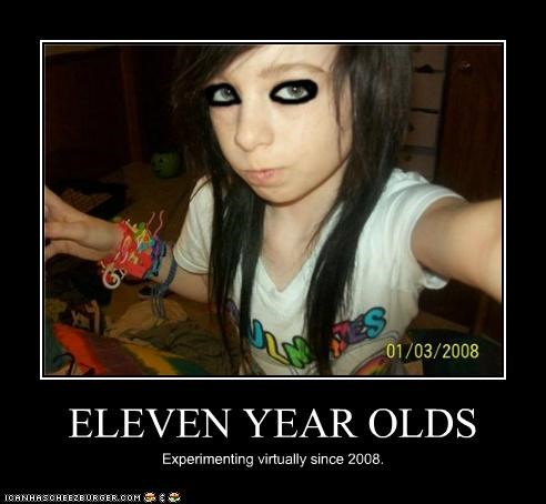 ELEVEN YEAR OLDS Experimenting virtually since 2008.