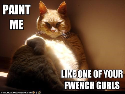 best of the week caption captioned cat fat french girls Hall of Fame me meme one paint quote tabby titanic your - 5287741952