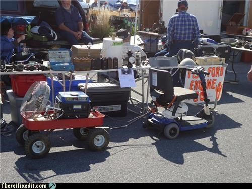 dual use generator rascal towing trailers