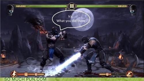 double meaning i see ICWUDT icy literalism meme Mortal Kombat Sub Zero - 5289092608