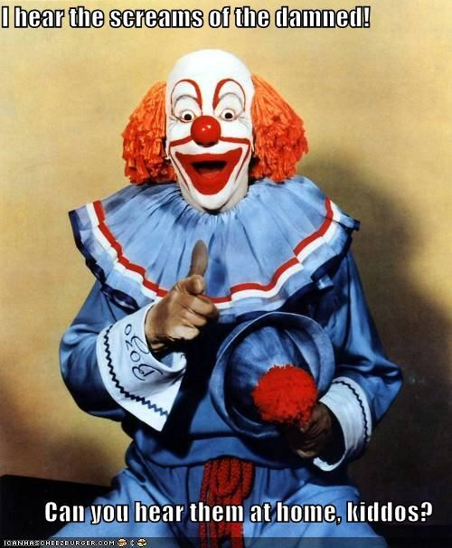 clown color creepy funny historic lols Photo wtf - 5289578496