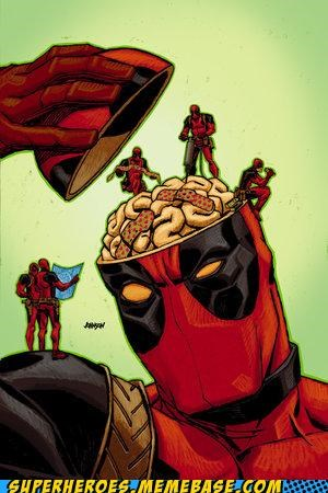 Awesome Art,brain,deadpool,fixed,tiny