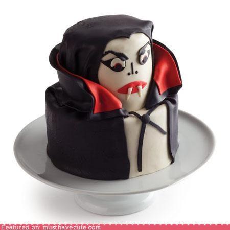 cake,epicute,fondant,halloween,vampire