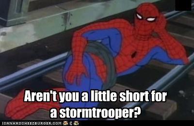 Spider-Man star wars stormtrooper Super-Lols - 5290851584