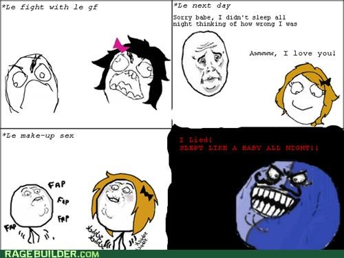 fight i lied Rage Comics relationships - 5291448320