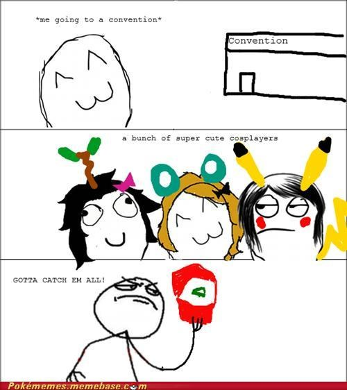 ash convention cosplay girls pikachu rage comic Rage Comics - 5291927808