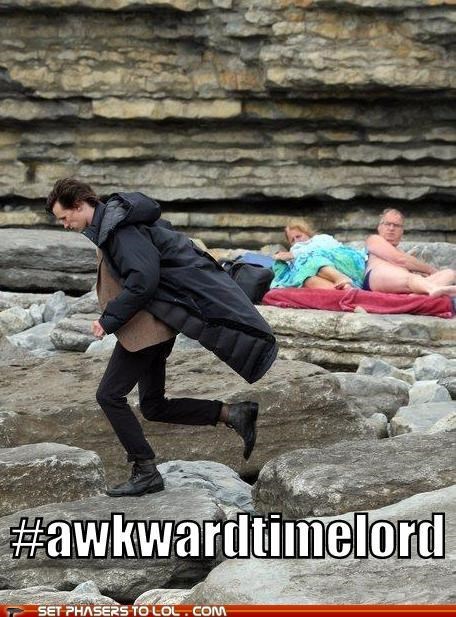 Awkward doctor who hashtag Matt Smith timelord