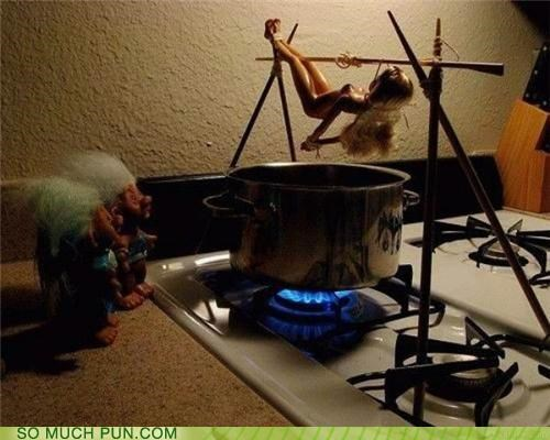 barbecue Barbie bbq doll dolls double meaning Hall of Fame literalism troll trolls - 5293006592