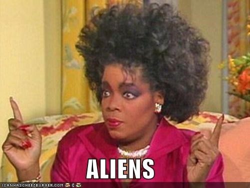Aliens ancient aliens crazy hair Giorgio Tsoukalos Oprah Winfrey roflrazzi what is wrong with your hair wtf