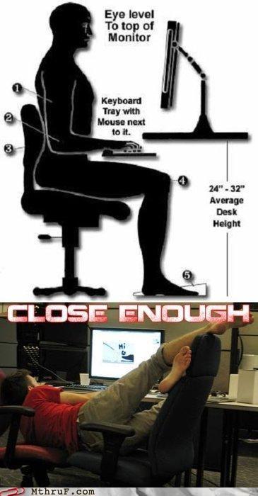 ergonomics posture