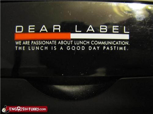 funny signage lunch as a pastime passion for eating - 5294354432