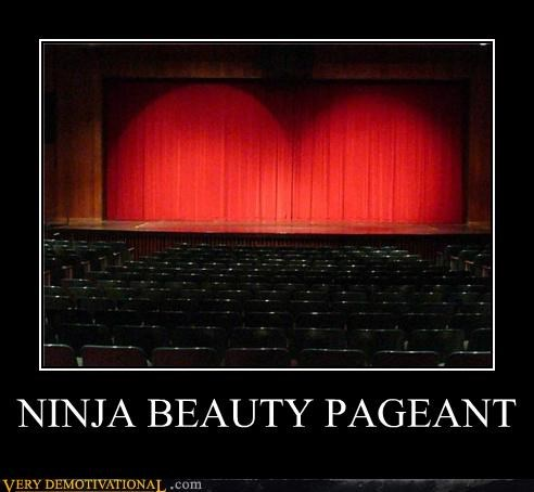 beauty,hilarious,ninja,pageant