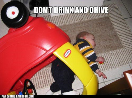 accident,alcohol,baby,car,drinking,driving,Parenting Fail,whoops