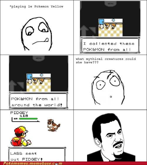 all around the world dafuq lass pidgey rage comic Rage Comics rare breed yellow - 5294868224