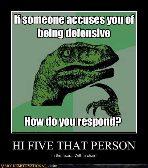 face high five hilarious philosoraptor - 5294957056