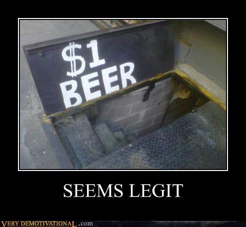 beer hilarious seems legit stairs - 5295435520