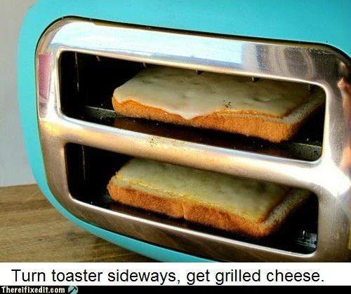 clever,cooking,dual use,not a kludge,toaster