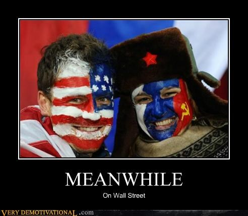 america face paint Pure Awesome russia Wall Street - 5295677440