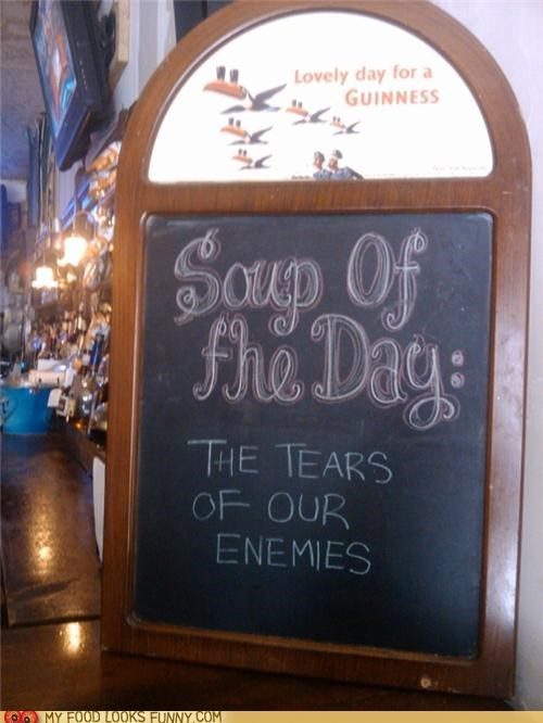 funny food photos soup tears
