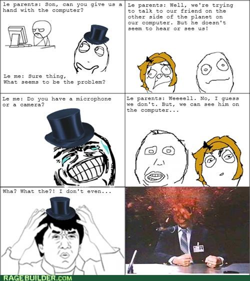 computer parents Rage Comics technologically impaired - 5296063488