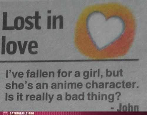advice column,anime,cartoons,newspaper,We Are Dating