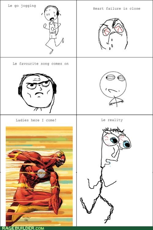 inspiration,jogging,Rage Comics,running,song