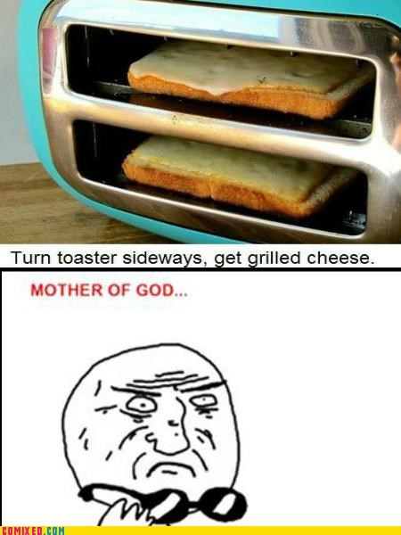 best of week food grilled cheese i am that lazy mother of god toaster - 5296397568