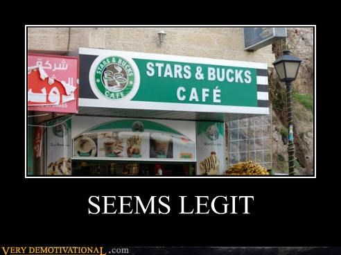hilarious seems legit Starbucks wtf - 5296469248