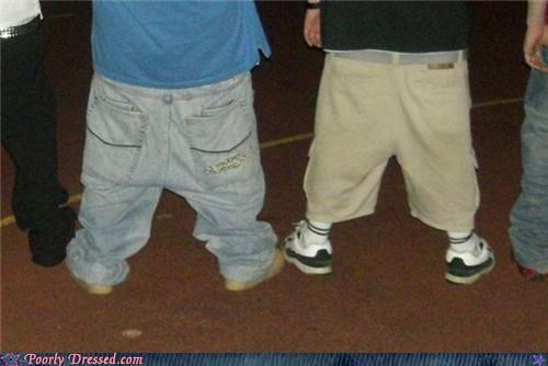 gangster low-riding pants saggin sagging - 5296499200
