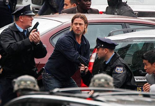 brad pitt,guns,movies,Nerd News,swat raid,swat team,weapons,world war z,wwz