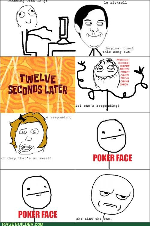 FAIL,girlfriend,Rage Comics,rick roll