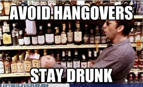 advice,drunk,good plan,hangover,liquor store,sunglasses