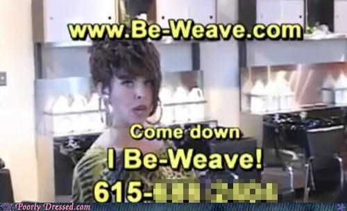 Ad,pun,salon,weave,weaves