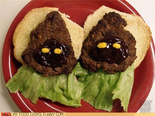 funny food photos hamburgers jawas star wars