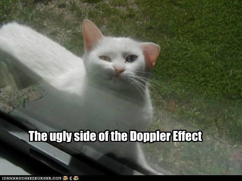 The ugly side of the Doppler Effect